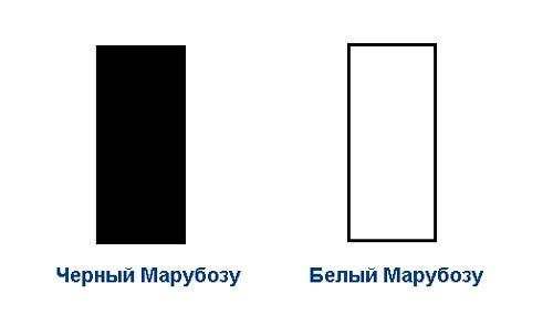 Белый и черный Марибозу