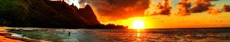 sea-sunset-hawaii